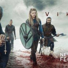 Vikings: un wallpaper per la terza stagione