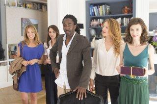 Non sposate le mie figlie!: Elodie Fontan, Frédérique Bel, Julia Piaton e Noom Diawara in una scena del film