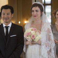 Non sposate le mie figlie!: Frédéric Chau con Emilie Caen in una scena del film
