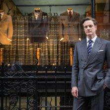 Kingsman: Secret Service, Colin Firth in una foto promozionale