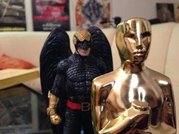 Birdman con il suo (forse) amico Oscar