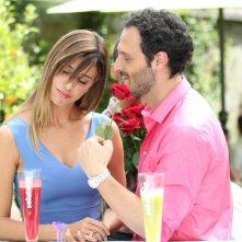 Non c'è 2 senza te: romanticherie tra Fabio Troiano e Belen Rodriguez in una scena del film