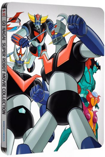 La steelbook di Super Robot Collection