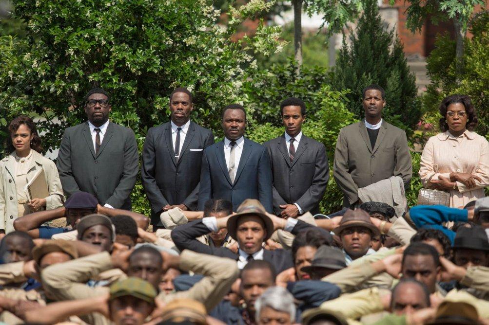 Selma - La strada per la libertà: una suggestiva scena del film drammatico