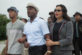 Selma - La strada per la libertà: David Oyelowo e Carmen Ejogo in una scena