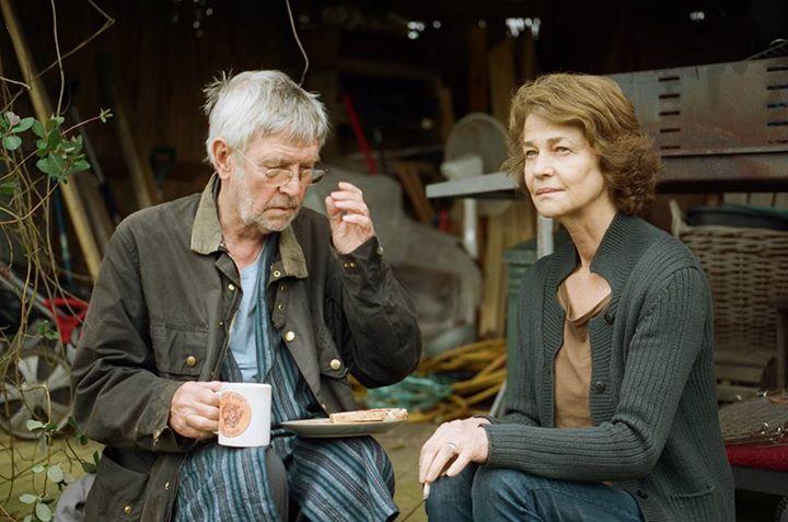 45 Years: Charlotte Rampling e Tom Courtenay in un'immagine del film