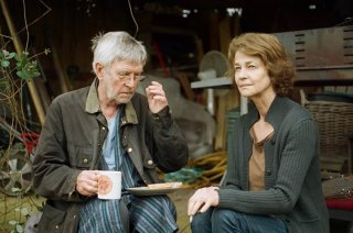 45 Years: Charlotte Rampling e Tom Courtenay in un'immagine del film