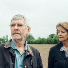 45 Years: Charlotte Rampling con Tom Courtenay in una scena del film