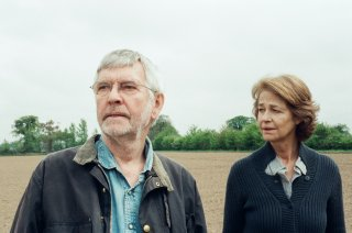 45 Years: Charlotte Rampling con Tom Courtenay in una scena del film