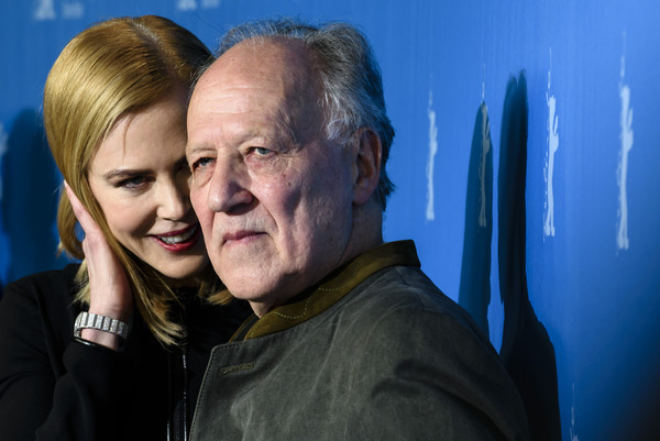 Queen of the Desert: il regista Werner Herzog e Nicole Kidman alla Berlinale