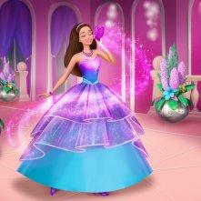Una scena tratta dal film animato 'Barbie Super Principessa'