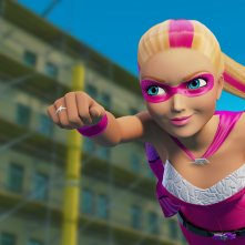 Barbie Super Principessa: Kara Super Sparkle in una scena del film animato