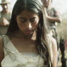 Ixcanul: María Mercedes Coroy, nel ruolo di Mara, in una scena del film