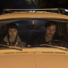The Diary of a Teenager Girl: Bel Powley con Alexander Skarsgård in una scena del film