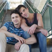 I Am Michael: James Franco con Zachary Quinto in una scena del film