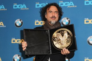 Birdman: Alejandro González Iñárritu con il premio del DGA