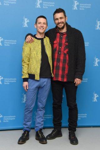 I Am Michael: Justin Kelly e James Franco al photocall