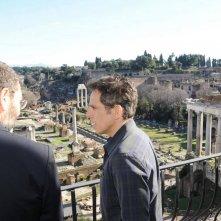 Ben Stiller a Roma poco prima delle riprese di Zoolander 2