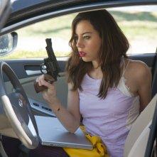 Ned Rifle: Aubrey Plaza in una scena del film