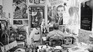 Life Itself: Roger Ebert nel suo studio in una scena del documentario