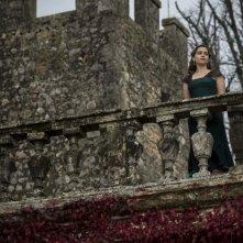 Emilia Clarke sul set di Voice from the Stone
