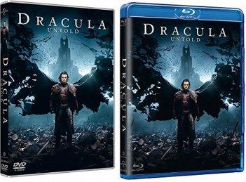 Le cover homevideo di Dracula Untold