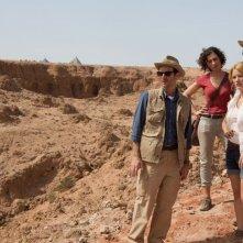 La Piramide: Kamir Amyab con Dennis O'Hare, Crista Nicola e Ashley Hinshaw in un momento del film