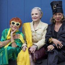 Advanced Style: Ilona Smithkin con Joyce Carpati e Lynn Dell una scena del documentario