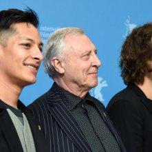 Eisenstein in Guanajuato: il regista Peter Greenaway insieme a Elmer Back e Luis Alberti