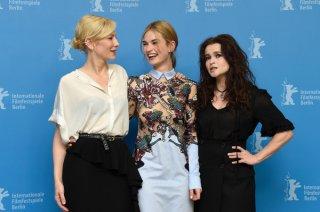 Cenerentola: Cate Blanchett, Lily James e Helena Bonham Carter al photocall di Berlino