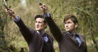 Doctor Who: una scena dello speciale Il giorno del Dottore