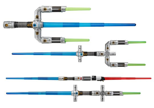 Star Wars - spade laser giocattolo prodotte dalla Hasbro