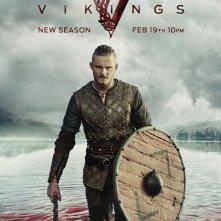 Vikings: Travis Fimmel in un manifesto per la terza stagione
