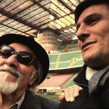 Javier Zanetti: Capitano da Buenos Aires, Albino Guaron con Javier Zanetti in una scena del documentario