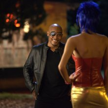 Motel: Rebecca Da Costa (di spalle) con Sticky Fingaz in una scena del film