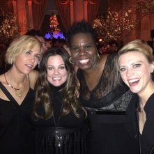 Le attrici di Ghostbusters 3 insieme all'after party del 40esimo anniversario del SNL