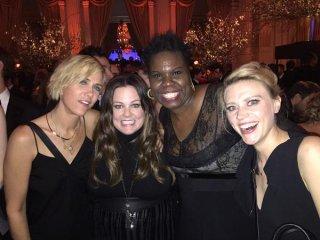 Le attrici di Ghostbusters 3 insieme all'after party del 40esimo anniversario del SNL