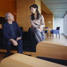 Le leggi del desiderio: Nicole Grimaudo insieme a Luca Ward in una scena del film