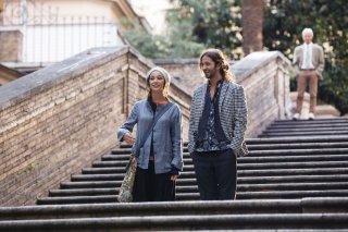 Le leggi del desiderio: Silvio Muccino con Nicole Grimaudo in un momento del film