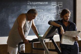 Le leggi del desiderio: Silvio Muccino con Maurizio Mattioli in una scena del film