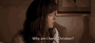 Cinquanta sfumature di grigio: Dakota Johnson è smarrita