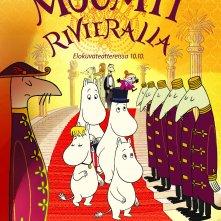 Locandina di Moomins on the Riviera