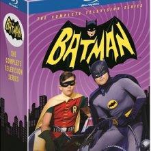 La cover del cofanetto di Batman