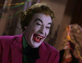 Una scena della serie tv Batman
