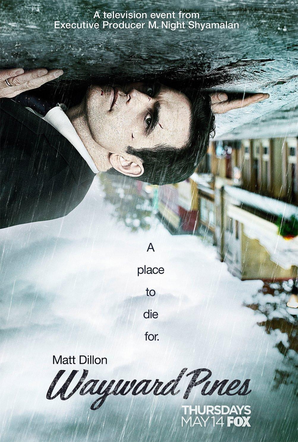 Wayward Pines: il poster della serie evento