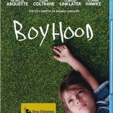 La cover del blu-ray di Boyhood