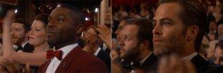 Oscar 2015: un momento di commozione in seguito alla performance della canzone Glory