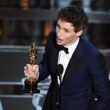Eddie Redmayne vince l'Oscar per La teoria del tutto