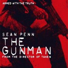 The Gunman: il character poster di Sean Penn