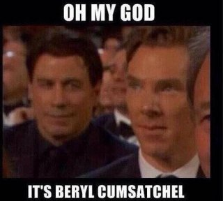 Oscar 2015: un divertente meme dedicato a Travolta e Benedict Cumberbatch